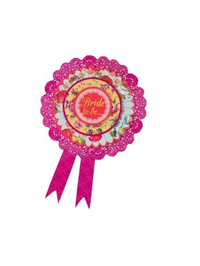 "Rosette ""Bride to be"""