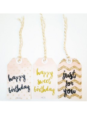 Gift Tags Anniversaire