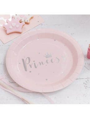 8 Assiettes-princesse